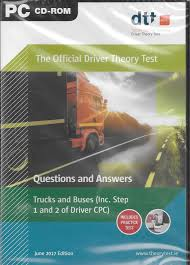 100 Truck Driving Test Driver Theory CDRom Bus Latest Edition 1994