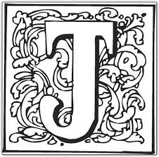 Free J Coloring Pages