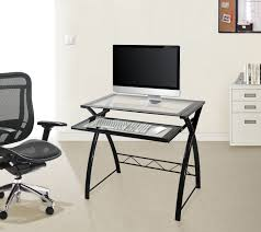 Santorini L Shaped Computer Desk by Computer Desk With Pullout Keyboard Tray Desk Computer Desk With