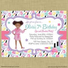 49 Best Spa Invitations Images On Pinterest Birthday Party Ideas With Regard To Day