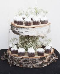 Wedding Cake Stands Rustic Pics Diy Floating Birch Stand Chic 590 X 723