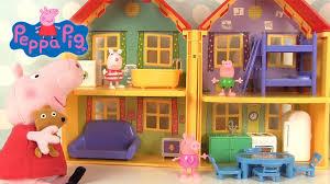 la fête de peppa pig avec m patate maison de peppa pig jouet