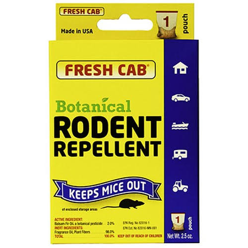 Fresh Cab Botanical Rodent Repellent Pouch