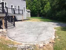 concrete patio appleton wi spencer concrete home