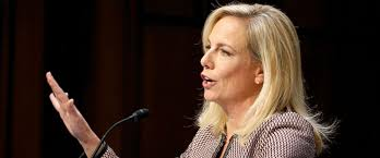 Homeland Security secretary grilled over Trump s hole ments