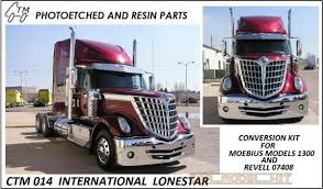 International Lonestar Conversion Kit - Czech Truck Model | Car ...