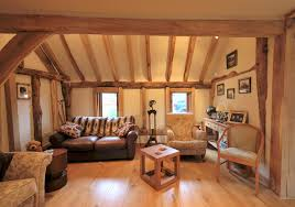 Barn Conversion In Kent UK Rustic Living Room
