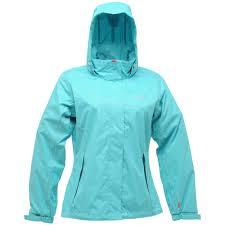 regatta ladies lizette hooded outdoor waterproof jacket rain coat