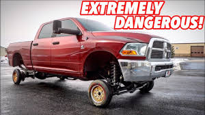 100 Best Way To Lift A Truck I PUT TINY CR WHEELS ON MY LIFTED TRUCK