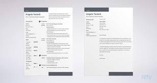 Modern Resume And Cover Letter Design