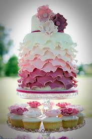 Cute Pink Colored Wedding Cake Ideas Cakes And Cupcakes