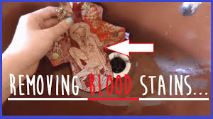 Remove Blood Stain From Carpet by How To Remove Blood Stains Stain Remover Youtube