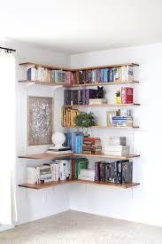 13 simple living room shelving ideas floating corner shelves