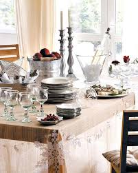 Christmas Decorations Ideas Dinner Table Cool Wooden With Dining Set