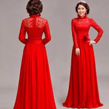 turmec red long sleeve dress girls