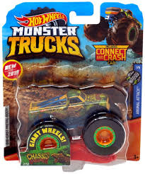 100 Hot Wheels Monster Truck Track S Animal Attack Chassis Snapper 164 DieCast