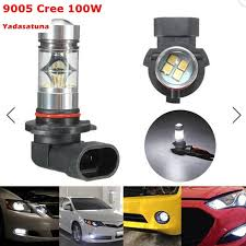 2xhigh quality 100w 9005 hb3 led bulb 20 smd with luxeon chip car