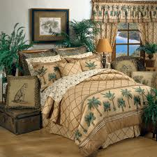 delectably yours kona palm tree 6 pc twin comforter sheets bed