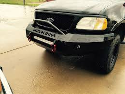 Iron Cross Automotive 22-415-97 Push Bar Front Bumper Ford F-150 97 ... Prunner Front Bumper With Abs Valance Ford Bronco F150 Solo Personal Use Pickup Truck Bumpers Custom Made Buckstop Truckware Ranger Px An Pxii Rear Ultimate F350 Build Part 6 Of Youtube Renegade 092014 Raptor Ecoboost 1516 Led Winch Black Painted Forum Ranch Hand Accsories Protect Your Flog Industries Install Truckin Magazine Thunder Struck Raceline Backup Sensors Mounts Rpg Offroad