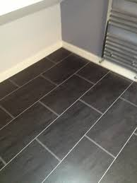 polyflor colonia slate with an grout home