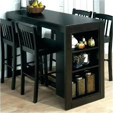 Bar Dining Table Set Tall Black Pub Height Counter Room Chairs