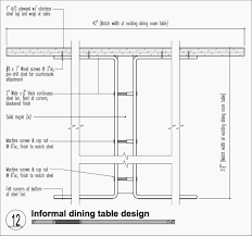 Best Standard Dining Table Height For Ideal Room Width Size Prepossessing Design