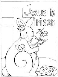Funny Easter Bunny Coloring Pages Cool Sheets Christian Resurrection Catholic Cute Medium Size