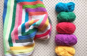 Weekend Project How To Crochet A Free Style Log Cabin Blanket