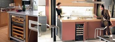 cuisine vins mini cave à vins et si vous en installiez une dans la cuisine