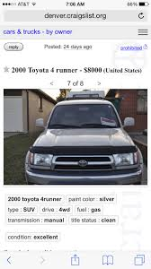 100 Denver Craigslist Trucks Looking For 2001 Or 2002 Grille And Rear Pair Tail Lights OEM