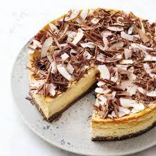 low carb cheesecake mit schoko und kokos