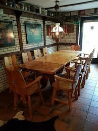 10 stühle landhaus rustikal esstisch vb 190