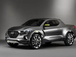 First Look At The Amazing Hyundai Santa Cruz Pick Up Truck Concept