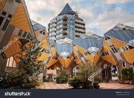 100 Cubic House ROTTERDAM NETHERLANDS SEPTEMBER 20 S Stock Photo Edit