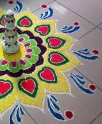 30 Best Corner Rangoli Designs Simple Rangoli for Diwali