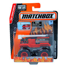 100 Stomper Toy Trucks Matchbox 164 Truck MBX Heroic Rescue Flame At Hobby