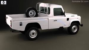 100 Land Rover Defender Truck 110 High Capacity PickUp 2011 By 3D Model Store