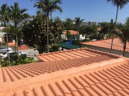 Entegra Roof Tile Inc by Original Tile Roofing System Removal Project On Carlisle Avenue In