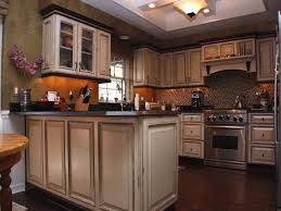 Image Of Antique Kitchen Cabinets Small