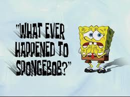 That Sinking Feeling Spongebob Transcript by What Ever Happened To Spongebob Transcript Encyclopedia