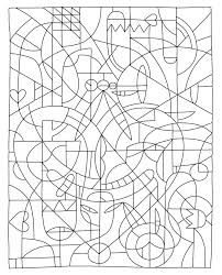 Hard Color By Number Coloring Pages Printable Pin Free