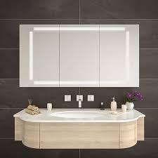 spiegelschrank badezimmer mit led beleuchtung denver