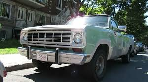 100 73 Dodge Truck DODGE D100 PICKUP TRUCK SIGHTING IN MONTREAL AUGUST 2018 YouTube