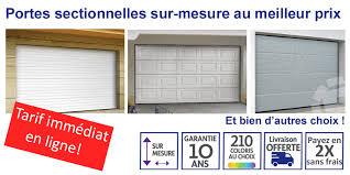 porte sectionnelle sur mesure porte de garage sectionnelle motorisée tarif carrosserie auto