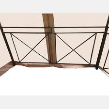 Canopy Beach Chairs At Bjs by Replacement Canopy For Long Beach Gazebo Riplock 350 Garden Winds