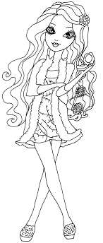Free Printable Ever After High Coloring Pages Briar Beauty Getting Fairest Page