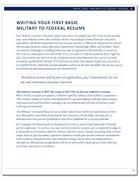 Military To Federal Career Guide 2nd Edition Page 21