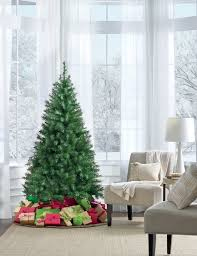 6ft Artificial Christmas Tree Pre Lit by 6 U0027 Unlit Dakota Spruce Tree U2014kmart