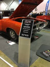 1969 Charger Car Show Display Stand