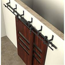 Doors: Bypass Barn Doors | Sliding Closet Door Hardware | Bypass ... Barn Door Track Trk100 Rocky Mountain Hdware Contemporary Sliding John Robinson House Bring Some Country Spirit To Your Home With Interior Doors 2018 6810ft Rustic Black Modern Buy Online From The Original Company Best 25 Barn Door Hdware Ideas On Pinterest Diy Large Hinges For A Collections Post Beam Raising Ct The Round Back To System Bathrooms Design Bathroom Ideas Diy Rolling Classic Kit 6ft Rejuvenation